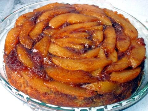 Mary Ellen Raes Pear and Cardamom Upside Down Cake The Wednesday Chef