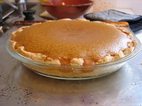 Kay Rentschler's Butternut Squash Pie - The Wednesday Chef