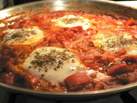 Shakshuka makes a perfect Arabic breakfast